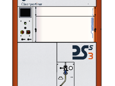 Stacja do ekstrakcji zanieczyszczeń na filtrach DSS3- CLEANPART'NER