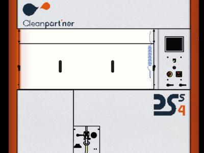 Stacja do ekstrakcji zanieczyszczeń na filtrach DSS4- CLEANPART'NER