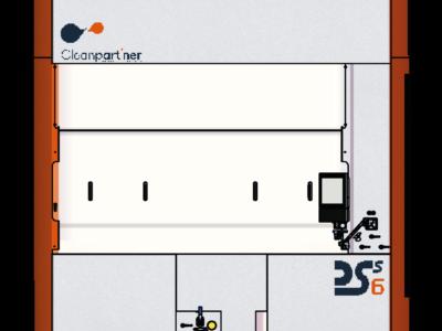 Stacja do ekstrakcji zanieczyszczeń na filtrach DSS6- CLEANPART'NER