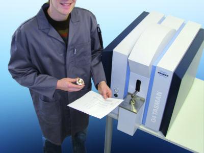 Spektrometr iskrowy Q4 Tasman